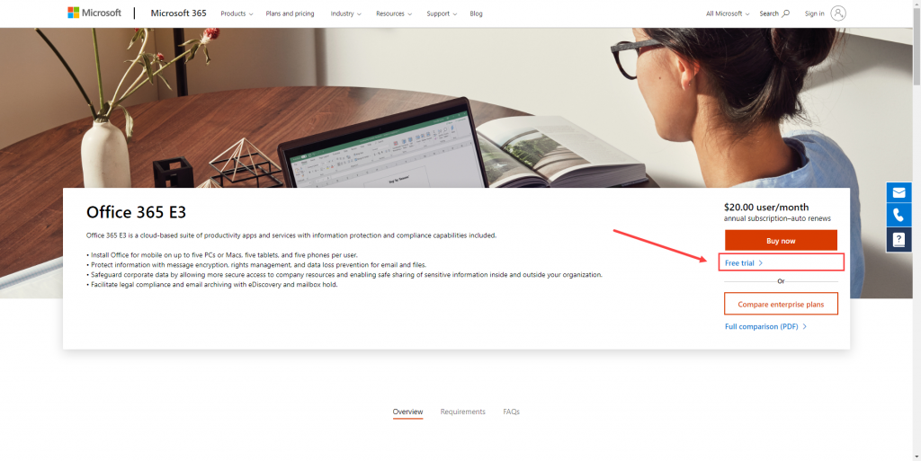 Getting Started - How to create your own Office 365 tenant.